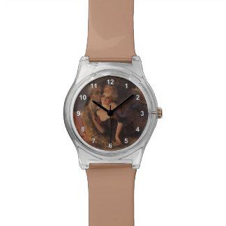Amantes de Konstantin Somov-. Igualación Relojes