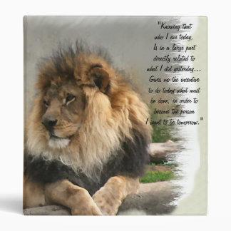 """Amantes de la fauna el león carpeta 1"""""""