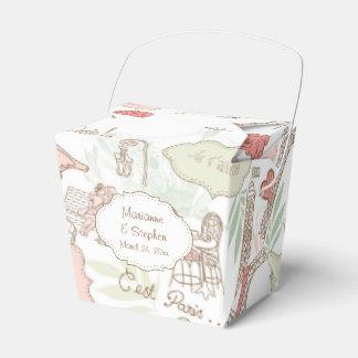 Amantes de la jaula de pájaros de los pájaros del caja para regalos