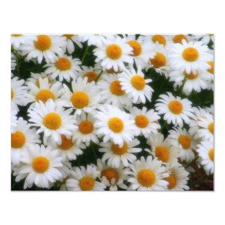 """Amantes de la margarita IMG_0066 Invitación 4.25"""" X 5.5"""""""