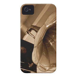 Amantes de la música antiguos de los regalos del iPhone 4 Case-Mate cárcasa