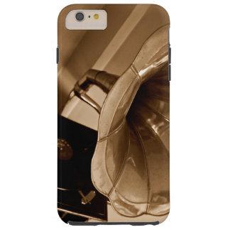 Amantes de la música antiguos de los regalos del funda de iPhone 6 plus tough