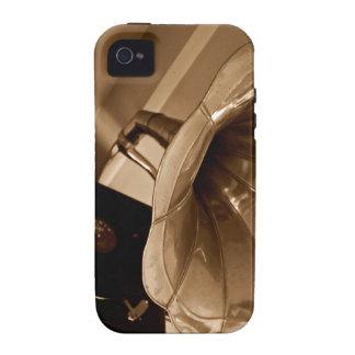 Amantes de la música antiguos de los regalos del iPhone 4/4S carcasas