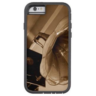 Amantes de la música antiguos de los regalos del funda de iPhone 6 tough xtreme
