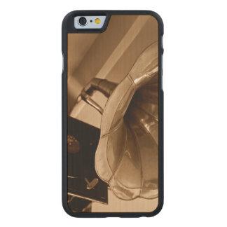 Amantes de la música antiguos de los regalos del funda de iPhone 6 carved® de arce