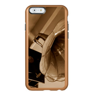Amantes de la música antiguos de los regalos del funda para iPhone 6 plus incipio feather shine