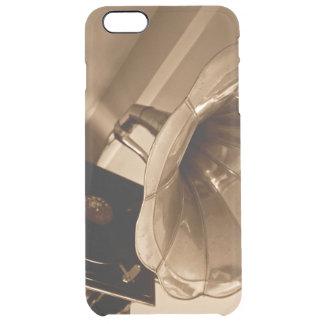 Amantes de la música antiguos de los regalos del funda clearly™ deflector para iPhone 6 plus de unc