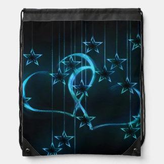 Amantes de la noche estrellada mochilas