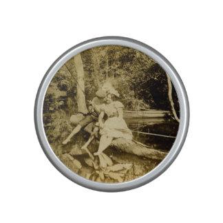 Amantes de la pesca del Victorian que roban un Altavoz