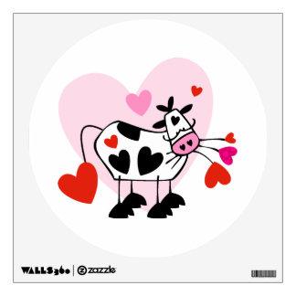 Amantes de la vaca vinilo adhesivo