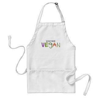 Amantes de la verdura de los Veggies del vegano Delantales