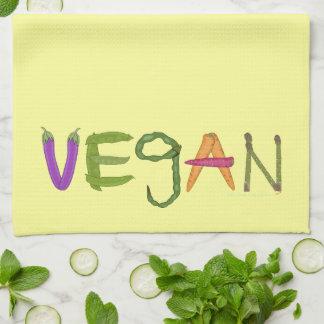 Amantes de la verdura de los Veggies del vegano Toallas