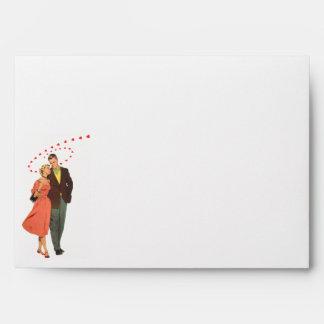 Amantes de las tarjetas del día de San Valentín Sobres