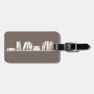 ¡Amantes de libros! Etiqueta Para Maleta