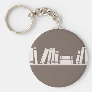 ¡Amantes de libros! Llavero Redondo Tipo Pin