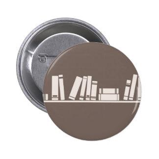 ¡Amantes de libros! Pin Redondo 5 Cm