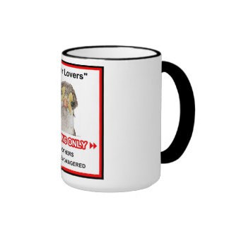 Amantes de los chorlitos taza