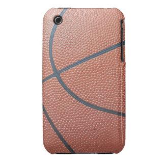 Amantes de los texture_Hoops de Spirit_Basketball iPhone 3 Cárcasa