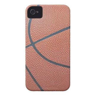 Amantes de los texture_Hoops de Spirit_Basketball iPhone 4 Case-Mate Carcasas