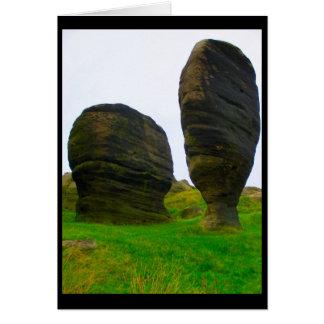 Amantes de piedra antiguos, Reino Unido Tarjeta De Felicitación
