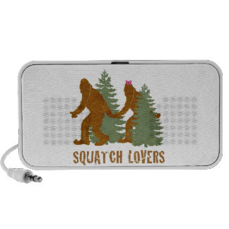 Amantes de Squatch Notebook Altavoces