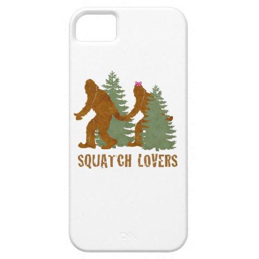 Amantes de Squatch iPhone 5 Carcasa