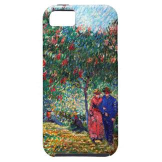 Amantes de Van Gogh en Montmarte iPhone 5 Protectores