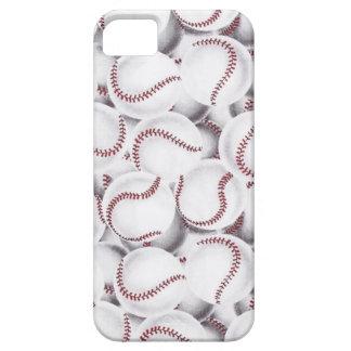 Amantes del béisbol iPhone 5 funda