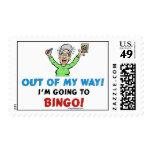 Amantes del bingo estampilla