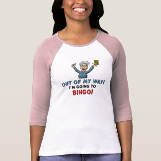 Amantes del bingo playera