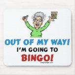 Amantes del bingo tapete de raton