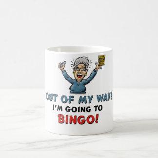 Amantes del bingo taza