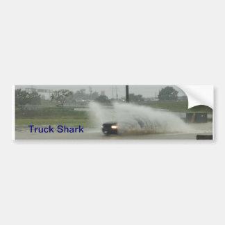 Amantes del camión especiales pegatina de parachoque