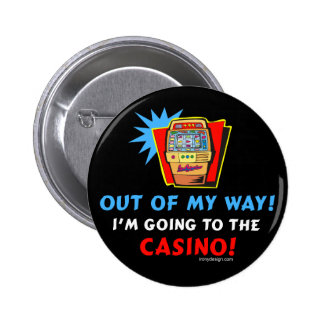 Amantes del casino pin redondo 5 cm