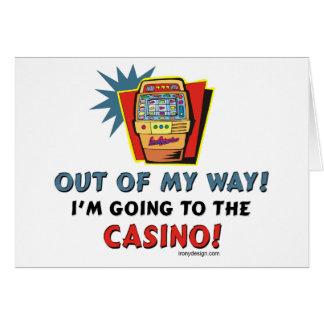 Amantes del casino felicitaciones