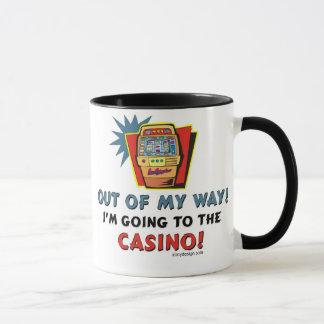 Amantes del casino taza