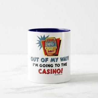 Amantes del casino taza de dos tonos