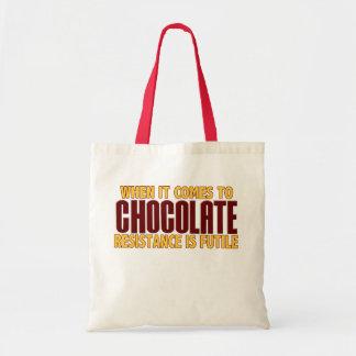 Amantes del chocolate bolsa