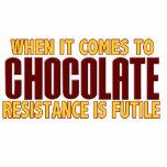 Amantes del chocolate escultura fotografica