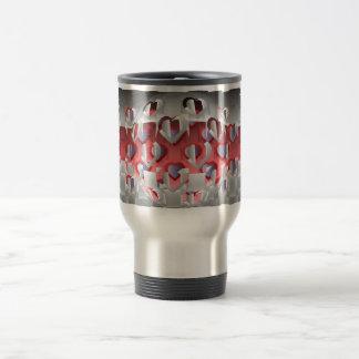 Amantes del cromo taza