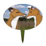 Amantes del Fox Decoraciones De Tartas