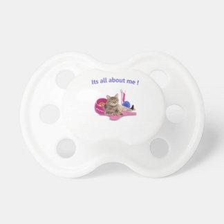 Amantes del gato chupetes para bebes