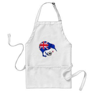 Amantes del kiwi del orgullo de Nueva Zelanda Delantal