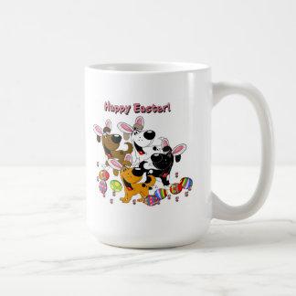 ¡Amantes del mascota! Huevos de Pascua Taza De Café