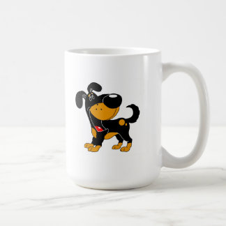 ¡Amantes del mascota! Perrito Taza De Café