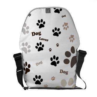 Amantes del perro bolsas de mensajeria