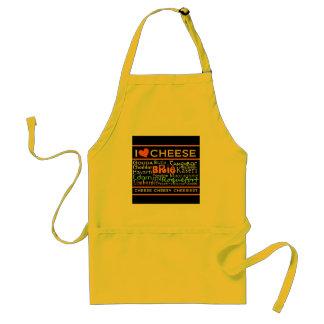 Amantes del queso delantal