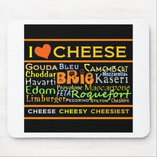 Amantes del queso tapetes de ratón