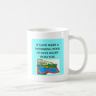amantes del salto tazas de café