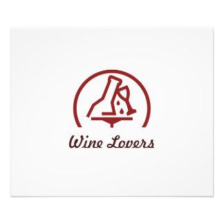 Amantes del vino cojinete